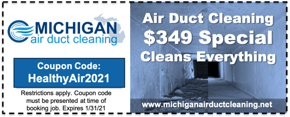 Air Duct Cleaning Coupon Jan 2021